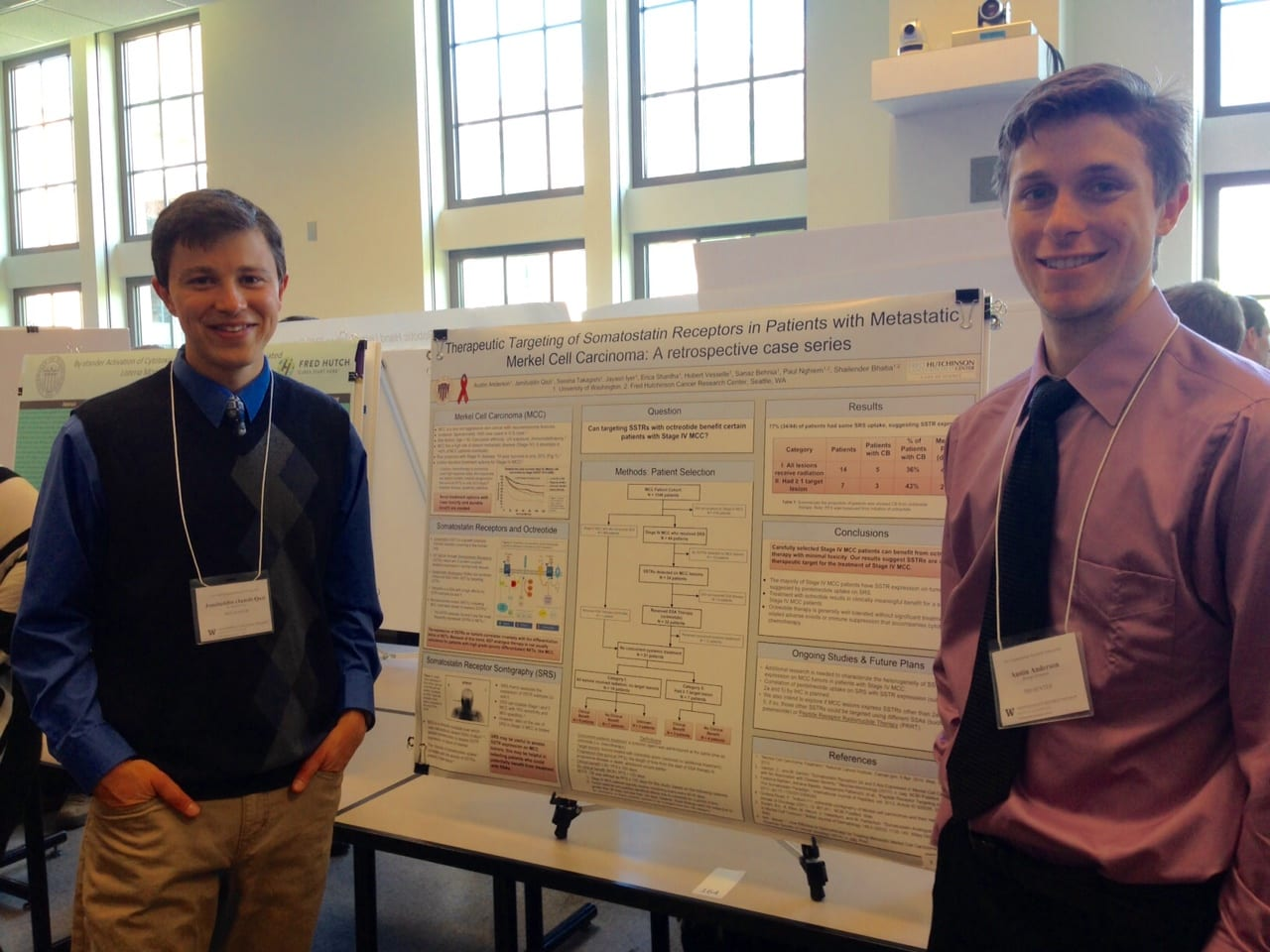 Undergraduate Research Symposium 2015 – Jamil Qazi And Austin Anderson