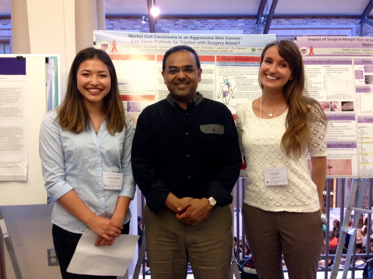 "Undergraduate Research Symposium 2015 – Seesha Takagishi, Dr. ""P"", And Tessa Marx"